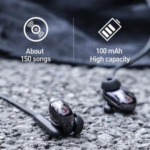 Image 2 - Baseus S30 Bluetooth наушники Беспроводной легкие спортивные наушники IPX5 Водонепроницаемый 3D стерео Бас Наушники с HD микрофон для мобильного телефона