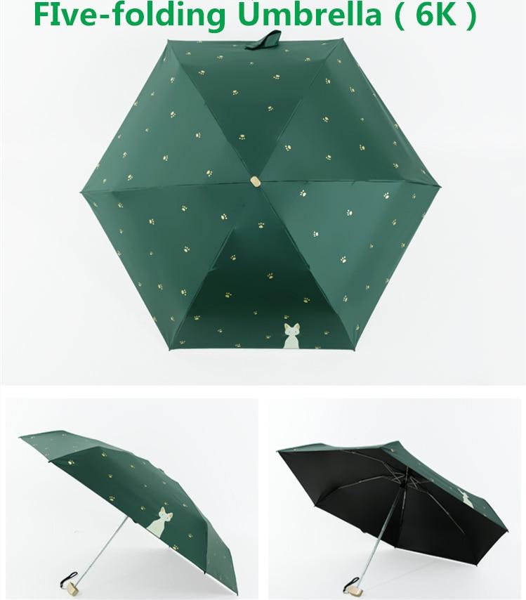 Automatic Cat Themed Umbrella