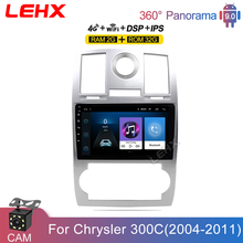 LEHX 2Din Android 9,0 4G TLE Autoradio RDS auto Radio Multimedia reproductor de Android para Chrysler Aspen 300C 2004, 2005, 2006, 2007, 2008