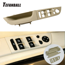 Car Right Left Original Interior Inner Door Handle Panel Trim Cover Kit for BMW E90 E91 3 Series 320i 325i 328d 330i 2004-2012 car inner handle inner door panel pull trim cover left right for bmw 3 series e90 e91 316 318 320 325 328 car interior door hand