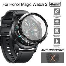 3D Изогнутые мягкие полное покрытие экрана протектор не стекло ультра тонкий HD прозрачный для Honor Magic watch 2 46 мм смарт часы аксессуары