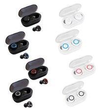 Écouteurs sans fil Bluetooth 5.0 TWS Y50, oreillettes stéréo, stop-bruit, commande tactile