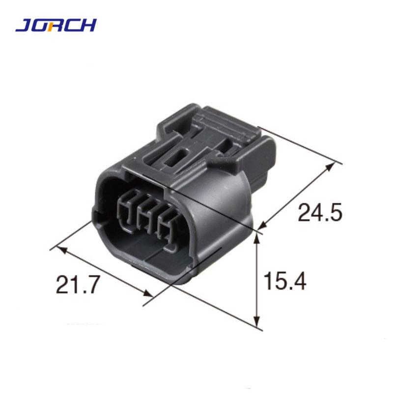2 Sets 3 Pin Sumitomo Headlight Acura Ignition Coil Connector 6189-0968 6918-1833