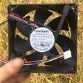 FOXCONN (12 см); DC12V 0.90A PV123812DSPF 01 12038 4-строчный PMW Скорость управляемый вентилятор воздушного нагнетателя