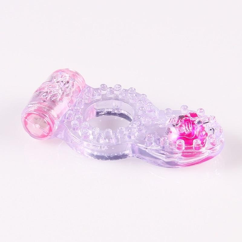 Мужская розовая бусина кольцо на пенис с вибрацией сильная мини Happy Enjoy мужчины t реквизит