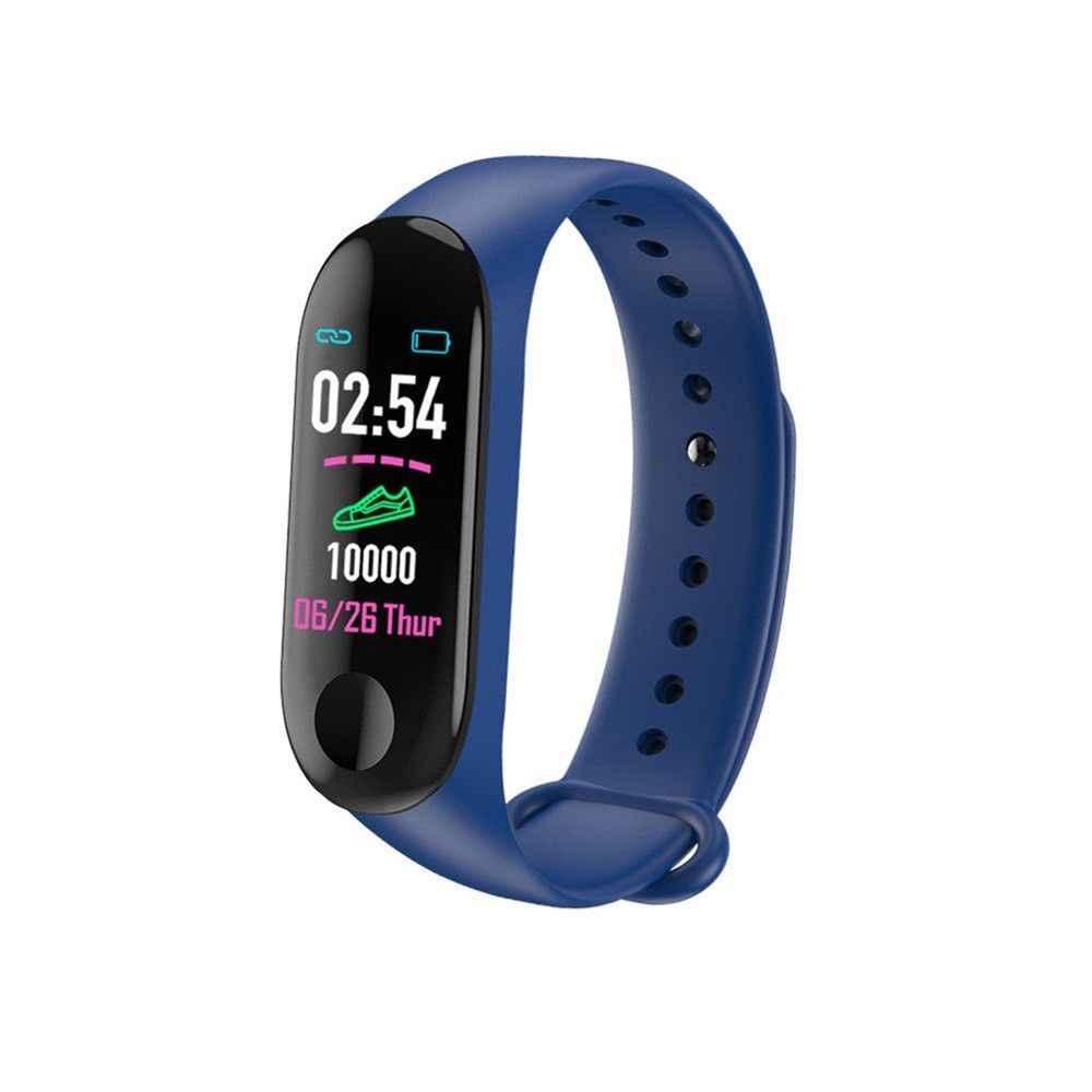 M3 בתוספת עמיד למים חכם שעון M3Plus Bluetooth שעון צמיד גשש כושר קצב לב פעילות צמיד ספורט Smartwatch
