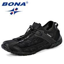 BONAรองเท้าผ้าใบฤดูร้อนBreathableชายรองเท้าสบายๆแฟชั่นผู้ชายรองเท้าTenis Masculino Adulto Sapato Masculinoผู้ชายรองเท้า