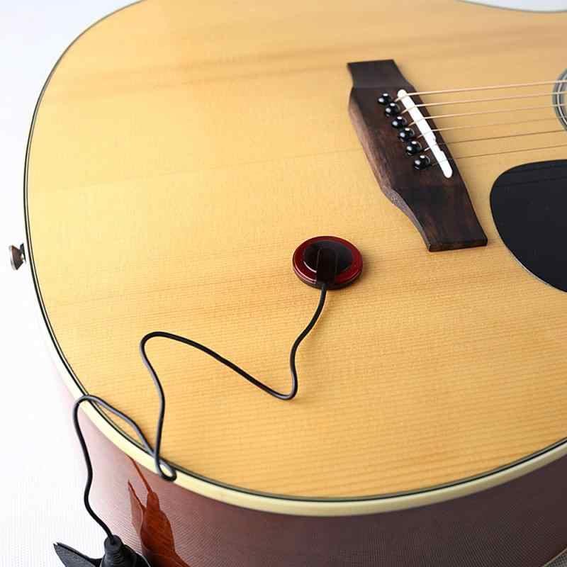 גיטרה איסוף מקצועי Piezo לתקשר מיקרופון לגיטרת כינור בנג 'ו מנדולינה Ukulel גיטרה אביזרי 8