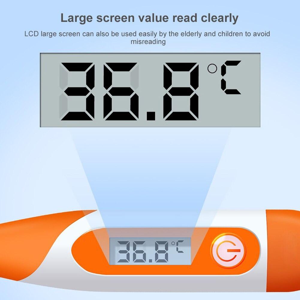 945.07руб. 51% СКИДКА|Водонепроницаемый портативный электронный термометр для младенцев, детей и взрослых, мягкое нижнее белье, точное измерение температуры тела|  - AliExpress