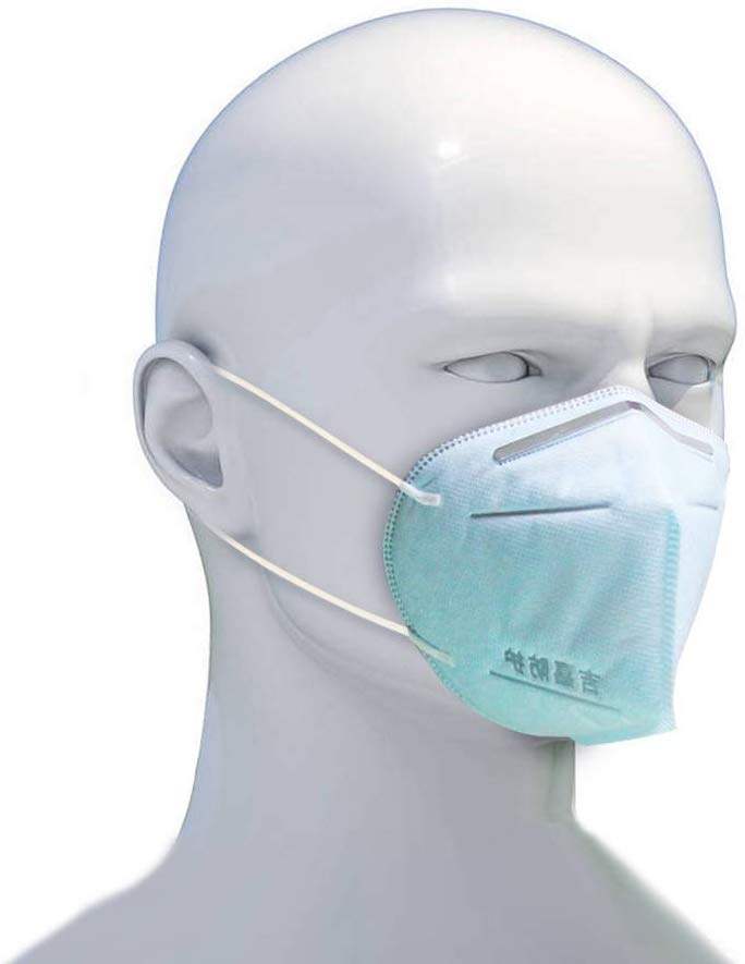 50pcs face protection mask Unisex Facial Protective Cover Masks  Disposable Surgical Mouth muffle Blue Anti Pollution Respirator  -