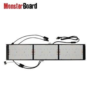 Możliwość przyciemniania płyty monster 320w 660nm sterownik Meanwell do Samsung lm301h led quantum bar do wewnątrz growbox