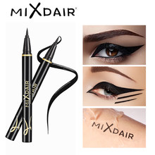 MIXDAIR อายไลเนอร์สีดำ Waterproof Long-Lasting Liquid Eye Liner ปากกา Smudge-Proof Make Up เครื่องมือ Maquiagem profissional(China)