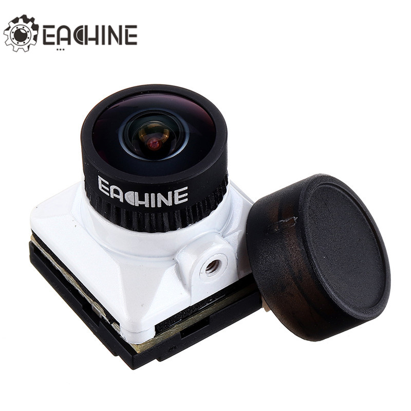 Eachine White Snake 2.1mm/1.8mm 1500TVL PAL/NTSC 16:9/4:3 Switchable HDR Mini FPV Camera With OSD Board For FPV Racing RC Drone(China)