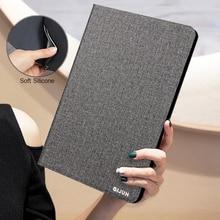 Tablet Fall Für Lenovo Tab P10 10,1 X705F TB-X705F TB-705L 10.1 ''Retro Flip Stand PU Leder Silikon Soft Cover schützen Funda