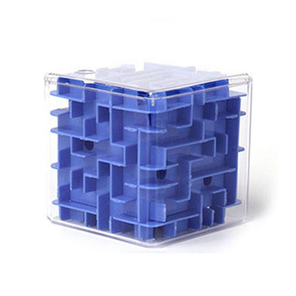 3D трехмерный лабиринт, квадратный шар, кубик, головоломка, игрушка, ручная игра, футляр, забавная игра для мозга, вызов, Непоседа, обучающая и...