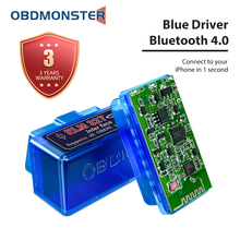 Bluetooth ELM327 V1.5 V2.1 OBD2 Scanner Auto Diagnostic Tool for iPhone and Android Faslink X Free Update