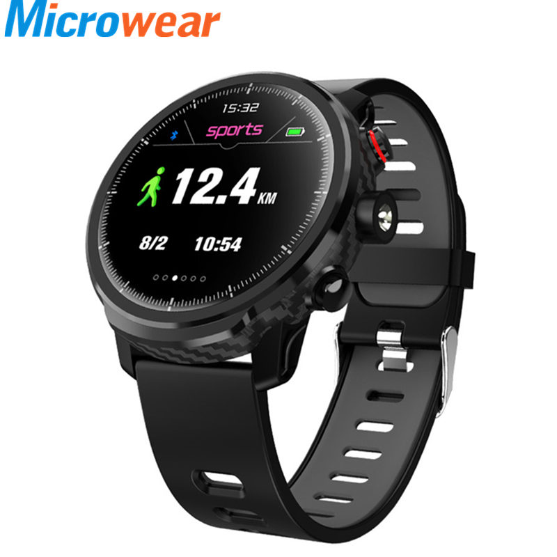 <font><b>L5</b></font> <font><b>Smart</b></font> <font><b>Watch</b></font> <font><b>Men</b></font> <font><b>IP68</b></font> Waterproof <font><b>Smart</b></font> <font><b>Watch</b></font> Wristband Call Reminder Heart Rate Monitor Weather Forecast Smartwatch For IOS image