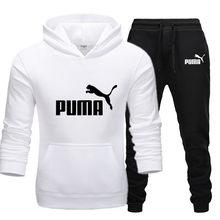 Conjuntos de marcas masculinas peças esportivas conjuntos de roupas masculinas definir streetwear masculino 2021 puma