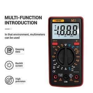 Image 4 - M1 Multimeter Portable LCD Digital Multimeter Backlight AC/DC Ammeter Voltmeter Ohm Tester Meter Handheld Multimeter Tester