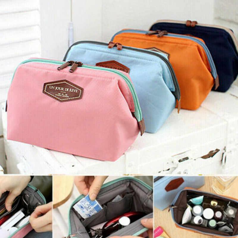 ใหม่มาถึง Beauty Travel กระเป๋าเครื่องสำอางขนาดเล็กวรรณกรรมขนาดเล็กกระเป๋าเครื่องสำอาง Organizer Mini Casmetic กระเป๋า