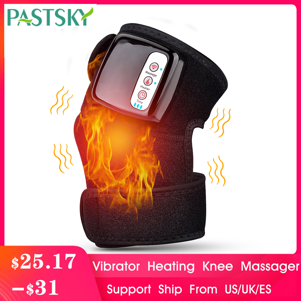 Far Infrared Heating Massage Knee Brace Vibration Pain Relief Therapy Joint Shoulder Elbow Physiotherapy Arthritis Treatment