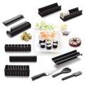 11 stücke DIY Sushi-herstellung Kit Reis Roller Formen Für Anfänger Küche Untensil
