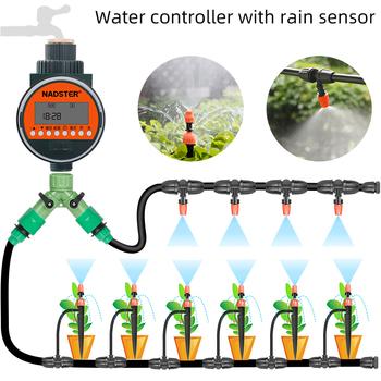 Czujnik deszczu automatyczny zraszacz regulator wody nawadnianie ogrodu zestaw do natrysku balkonowego w ogrodzie domowym tanie i dobre opinie nadster Ac pro Ogród wodny timery