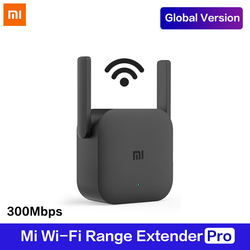 Global Version Xiaomi WiFi Router Amplifier Pro Router 300M 2.4G Network Expander Repeater Power Extender Antenna Home Office