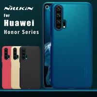 Nillkin para huawei honor 20 pro caso fosco escudo pc capa traseira para honra 9x 9x pro 20 10 9 lite 8x max 7x 7c 6a nilkin caso|Meia-embrulhado Casos| |  -