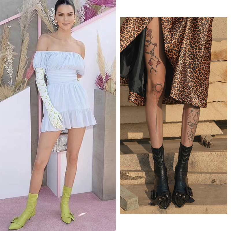 Autumn New Ankle <font><b>Boots</b></font> For <font><b>Women</b></font> <font><b>Leather</b></font> Pointed Toe zip Botines Fashion Stiletto <font><b>High</b></font> <font><b>Heels</b></font> <font><b>Sexy</b></font> Botas Mujer 2019 Winter Shoes image