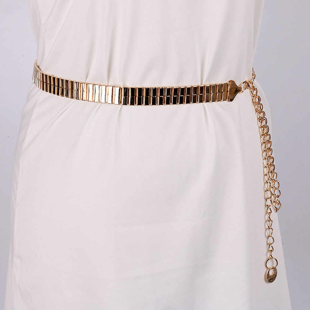 Women Waist Chain Silver Gold Color Sexy Multi-layered Retro Tassels Waist Belt Fashion Metal Chain Pearl Style Belt Body Chain