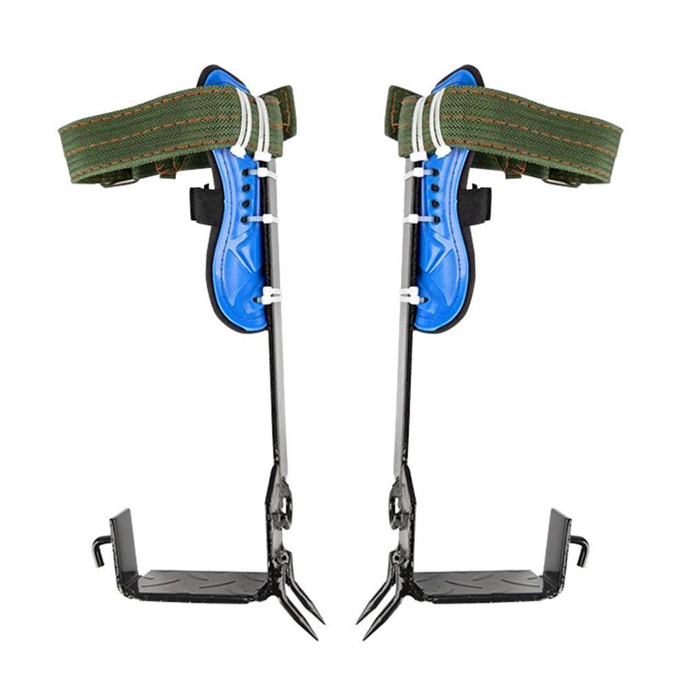 2 Gears Tree Climbing Spike Set Safety Belt Adjustable Lanyard Rope Rescue Belt Tree Climbing Tool Outdoor Gadget - 2