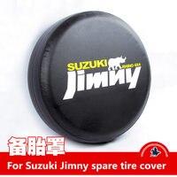 For Suzuki Jimny trunk tire cover Jimny spare tire cover imitation leather Jimny car exterior decoration