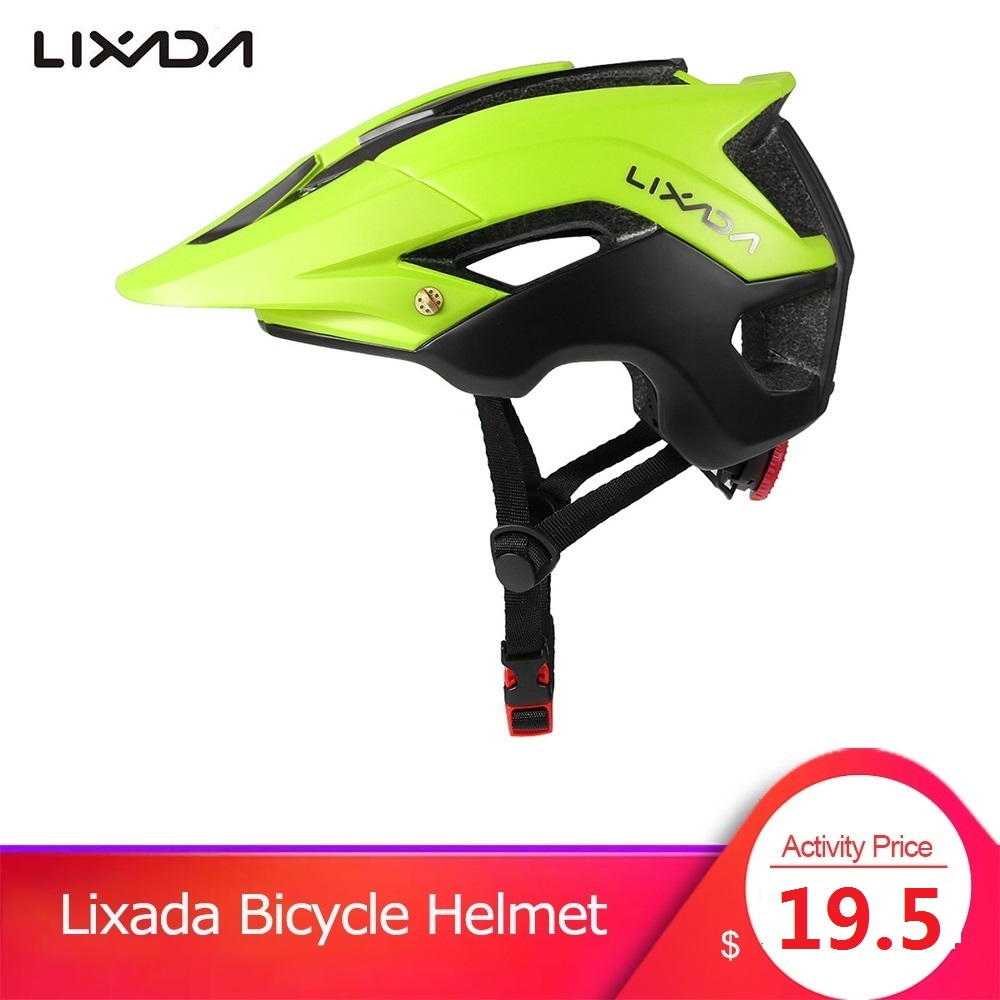 Lixada Bike Helmet Mountain-Bike Cycling Sports-Protective Women Integrally-Molded 13 title=