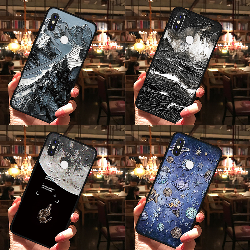 3D Relief TPU Cases For Samsung Galaxy Note 10 Pro 8 9 A20e A40 A50 A30 A70 A60 A10 S8 S9 S10 A6 A7 A9 A8 Plus 2018 A5 2017 Case
