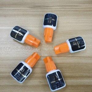 Image 4 - I beauty 1 butelka Korea oryginalny czarny IB Ultimate bond klej indywidualne przedłużanie rzęs klej pomarańczowy cap 5ml sztuczne rzęsy klej