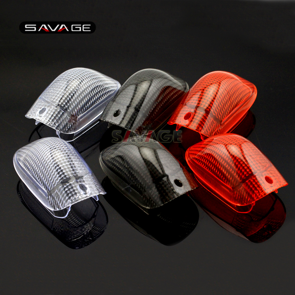 For KAWASAKI ZZ-R 1100C ZZR1100C ZX-11 1990-1992 Motorcycle Accessories Front Turn Signal Light Lamp Lens Cover