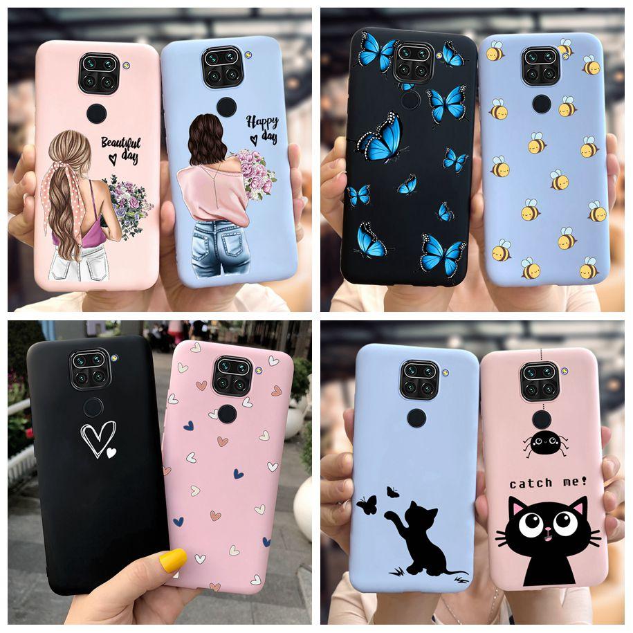 For Redmi Note 9 Case Soft TPU Cartoon Pattern Silicon Cover Phone Cases For Xiaomi Redmi Note 9 Note9 Note 9 Pro Max 9Pro Funda