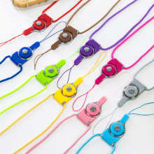 50PCS/lot Cell Phone Hanging Strap Mobile Phone Datachable Neck Straps Flexible Sling Necklace Rope For iPhone 8 7 6 6s Samsung
