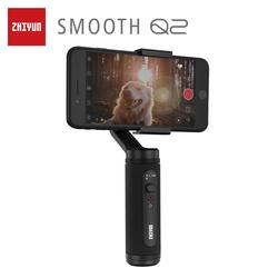 ZHIYUN Official SMOOTH Q2 Pocket-size mobile Gimbal for Smartphone iPhone/Samsung 3-Axis Vlog Handheld Stabilizer New Arrival