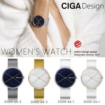 CIGA DESIGN CIGA Quartz Watch Star Watch Womens Simple Fashion Ladies Watch Wins Red Dot Design Award X series calvinklein minimal series quartz watch k3m2312x