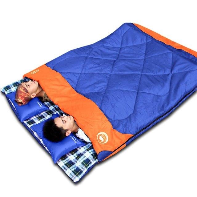DESERTCAMEL CS0221 Luxury 3-in-1 Lovers Sleeping Bag Outdoor Travelling Camping Sleeping Bag Wear Resistant Sleeping Bag