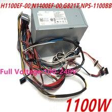Nueva fuente de alimentación para Dell Precision T7400 T7500 1100W H1100EF 00 N1100EF 00 G821T NPS 1100BB A
