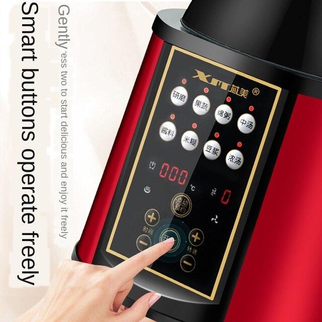 Máquina de ruptura Cytoderm calentamiento Automática mezclador de jugo de cocina de nutrición completa multifunción para el hogar
