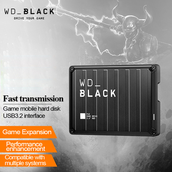 WD_BLACK P10 Game Drive, 2TB 4TB 5TB Portable External Hard Drive HDD, Compatible with Playstation, Xbox, PC, & Mac 1