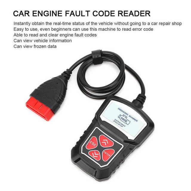 2020 New Hot Universal KW309 Car Engine Fault Scanner Diagnostic Instrument Code Reader OBD2 Auto Test Tool