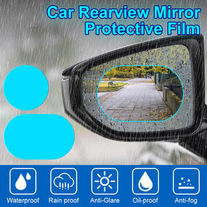 Protective-Film Car-Sticker Car-Rearview-Mirror Window Anti-Fog Rainproof 2PCS
