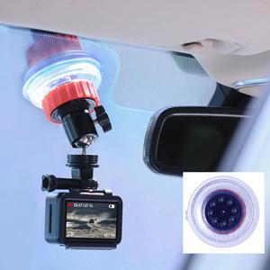Image 2 - Ulanzi U 50 Action Camera Suction Holder Mount for Dji Osmo Action Gopro Eken Sucker Holder Car Holder Mount Glass Suction Cup