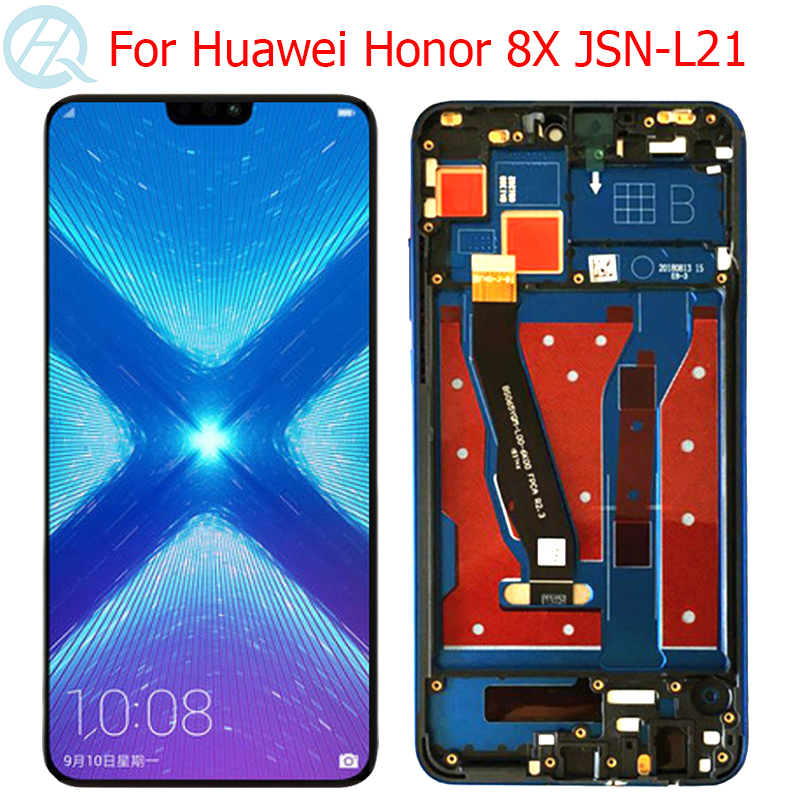 Original Honor 8X Display For Huawei Honor 8X LCD With Frame 6.5