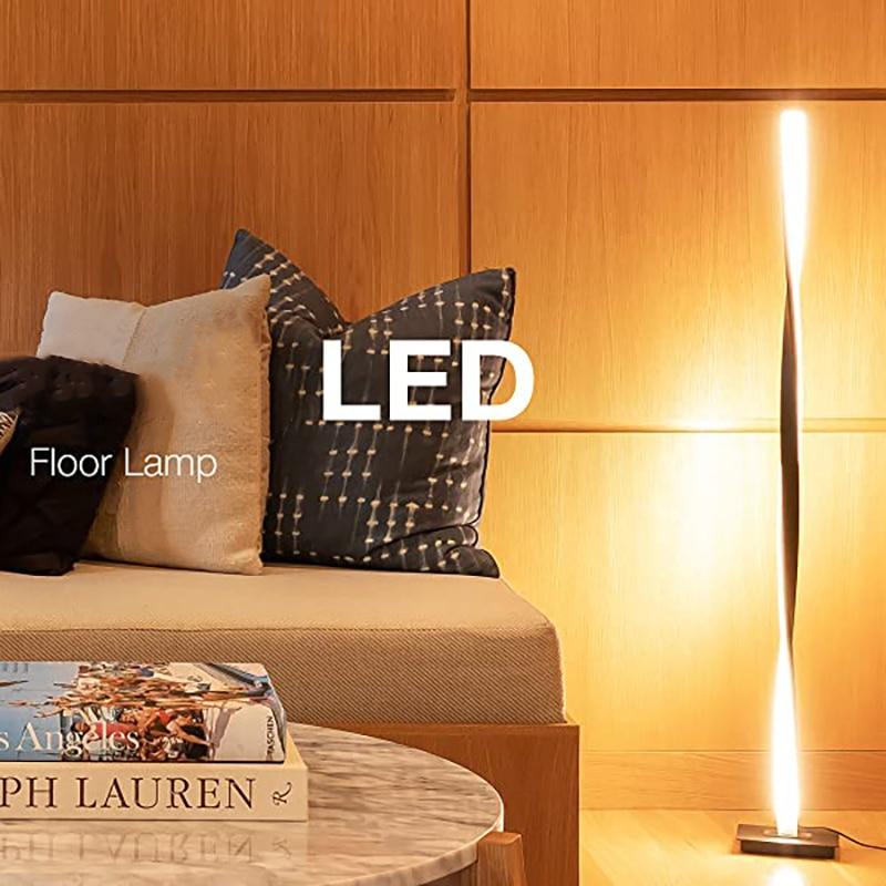 nordic rgb conduziu a lampada de assoalho decoracao casa luzes do quarto cabeceira leitura suporte luzes